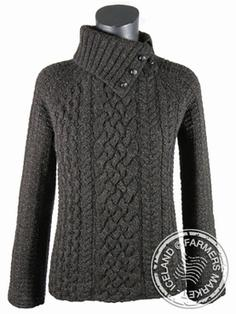 Skardshlid - Icelandic Wool Sweater, merino wool 3