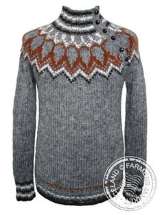 Gil - Design Icelandic Wool Sweater 2