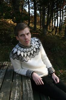 Gil - Design Icelandic Wool Sweater 3