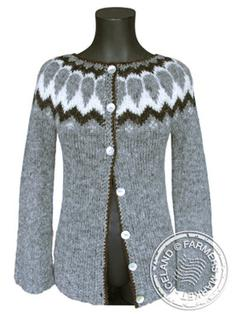 Fell open - Icelandic Design Wool Sweater 1