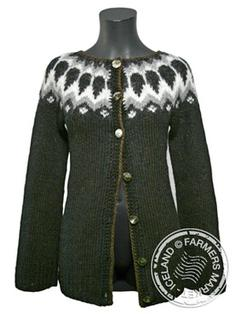 Fell open - Icelandic Design Wool Sweater 2