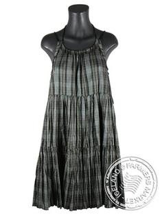 Heidi - Comfortable Icelandic Design Raw Silk Dress 3