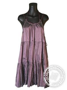 Heidi - Comfortable Icelandic Design Raw Silk Dress 4